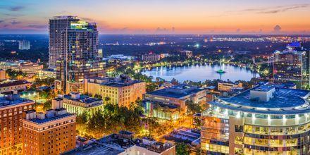 Litt av Orlando, sett ovenfra.