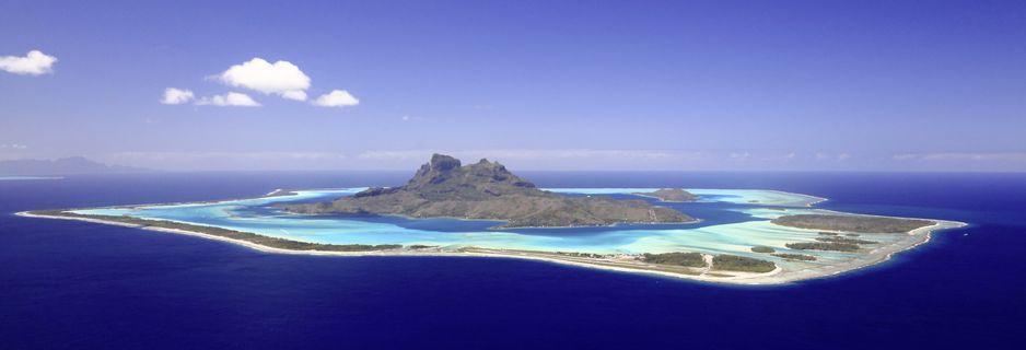 Bora Bora, et av mange Stillehavsparadis i Oseania