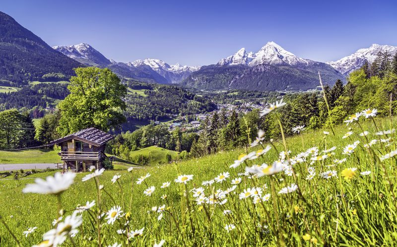 Østerrike ligger i hjertet av Sentral-Europa og byr på en helt fantastisk natur.