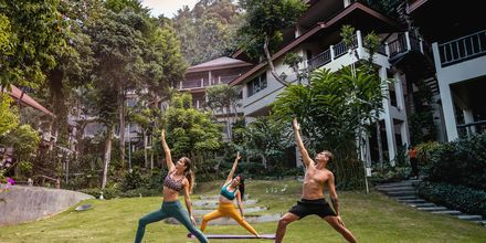 Yoga på hotellet
