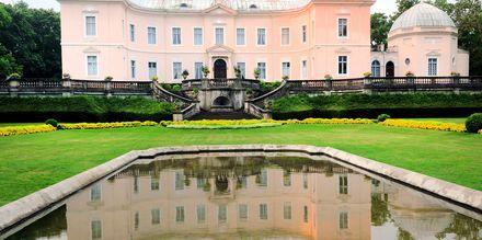 Amber Museum i Palanga, med blant annet en av verdens største samling av rav.