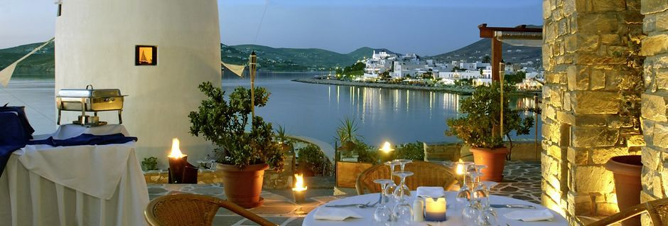 Pandrossos i Perika på Paros