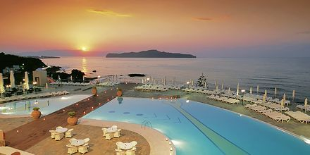 Panorama i Kato Stalos på Kreta