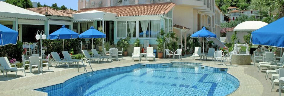 Hotel Panorama i Koukounaries på Skiathos