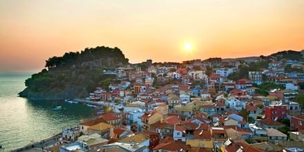Solnedgang over Parga