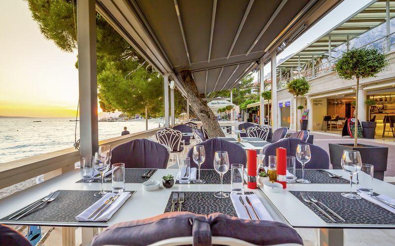 Restauranten ved stranden