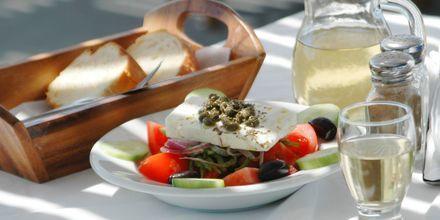 En gresk salat er alltid godt
