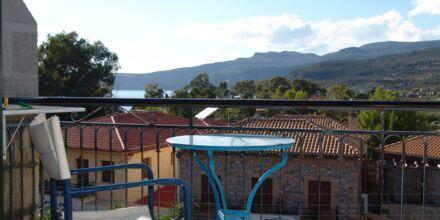 Fra balkongen til et dobbeltrom