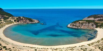 Den vakre Voidokilia-stranden ikke langt fra Gialova