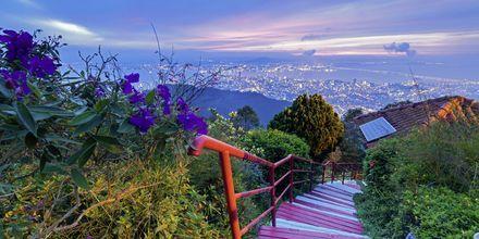 Utsikt fra Penang hill over George Town.
