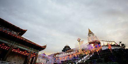I Penang er det mange templer og kulturelle monumentene.