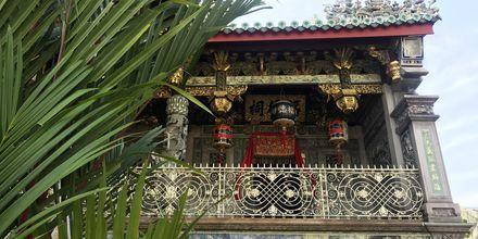 Khoo Kongsi er et av de vakreste templene i George Town, Penang.