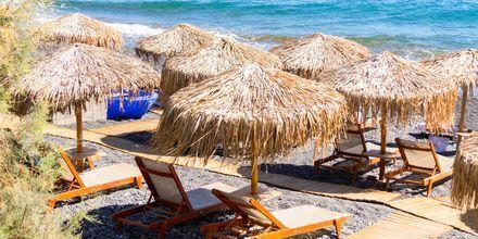 Deilige dager ved havet på Santorini