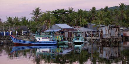 Fiskerhavn på Phu Quoc