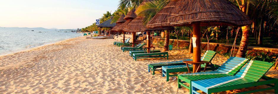 Vakre strender på Phu Quoc