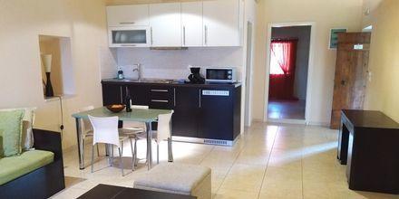Oppholdsrom og kjøkken i leilighet