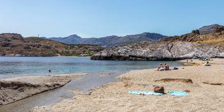 Stranda i Plakias er perfekt for deg som vil har god plass og styre unna de store folkemassene.