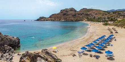 Strand nært Plakias på Kreta