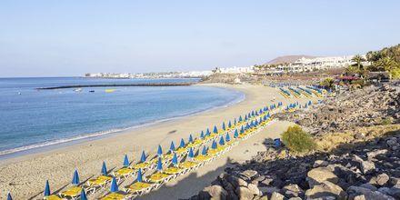 Stranden i Playa Blanca