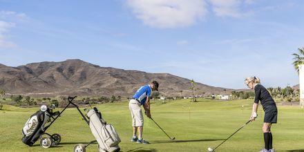 Golfbanen på Playitas Resort