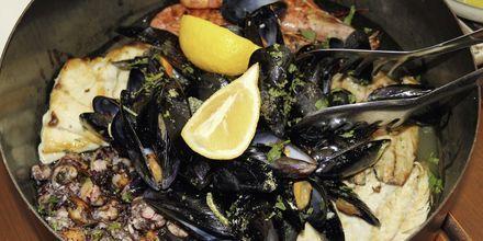 Havets delikatesser er en vanlig rett i Kroatia