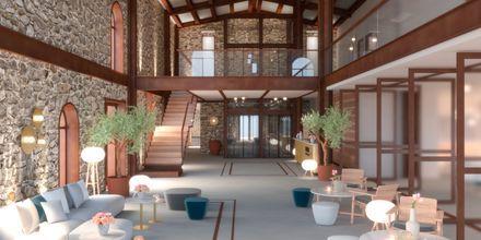 Skisse av lobby