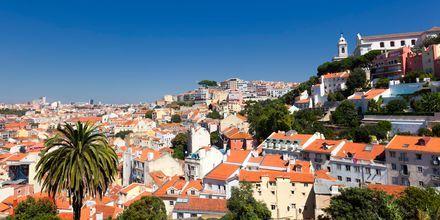 Utsikt over Lisboa, Portugals hovedstad