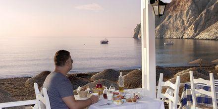 Restaurant ved strandpromenaden