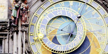 Det astronomiske uret på Rådhuset i Praha, Tsjekkia.