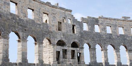 Utsnitt av amfiteateret