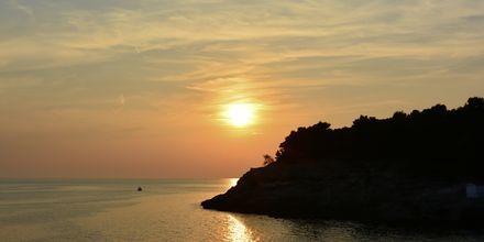 Solnedgang over Adriaterhavet