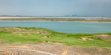 Golfbanen ved hotellet