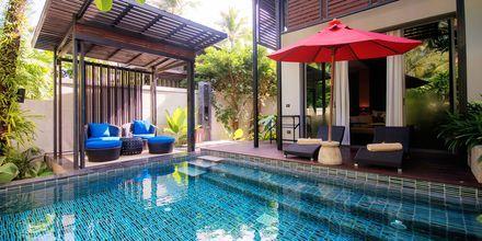 Suite med privat basseng