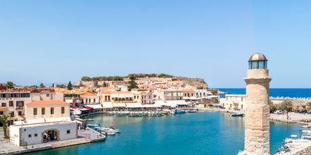 Vakker utsikt fra Rethymnon