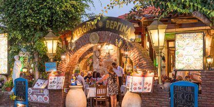 Hyggelig restaurant ved kysten