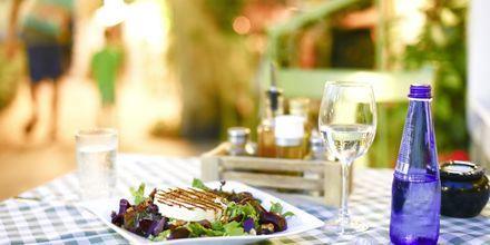 Nyt den gode greske maten