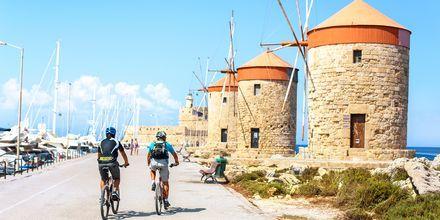 Ta en sykkeltur og oppdag Rhodos by