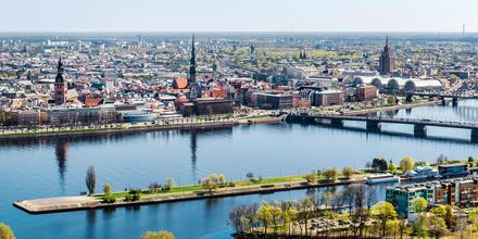 Riga i Latvia.