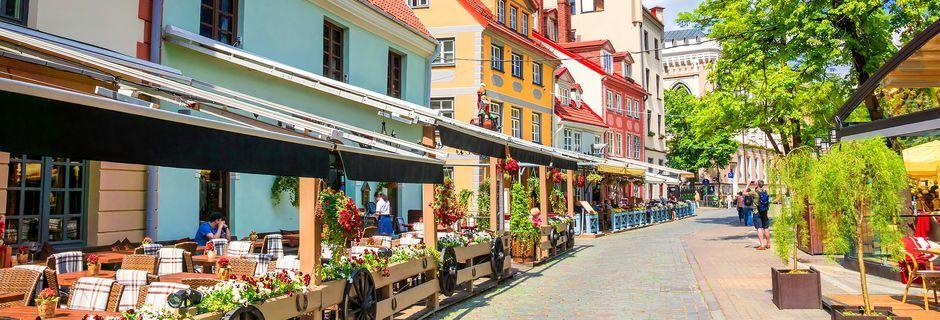 Riga – en av Baltikums hippeste byer.