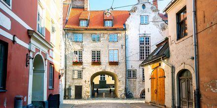 Bydel fra middelalderen i Riga.