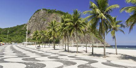 Strandpromenaden på Copacabana