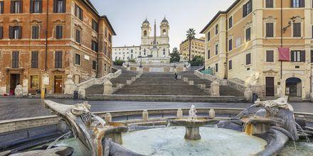 Spansketrappen i Roma, Italia.