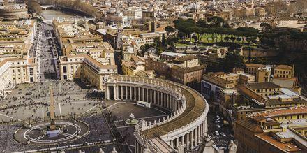 Vatikanet sett ovenfra.