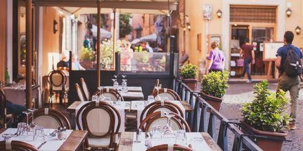 Romas tetthet av restauranter er imponerende. I tillegg finner du mange Michelin-kårede restauranter her.