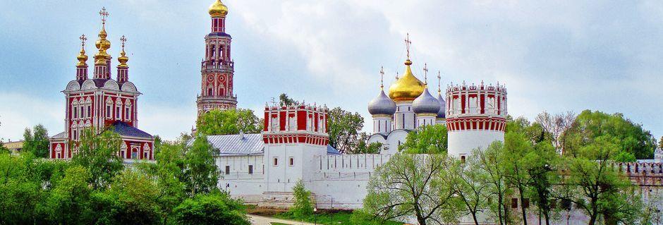 Novodevichyklosteret i Moskva