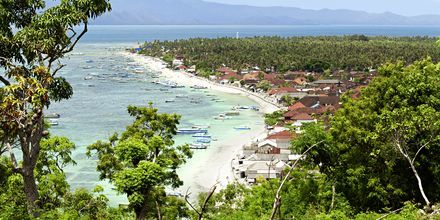 Uberørte lille Lembongan nær Sanur Beach