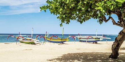 Sanur Beach på Bali