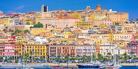 Cagliari med kastellet