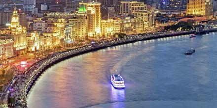 The Bund er Shanghais paradegate ved kanalen.