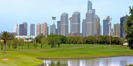Velstelte golfbaner i Dubai
